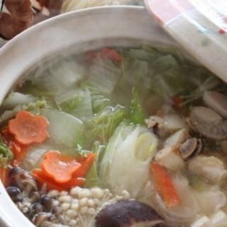 中華風★塩麹鍋