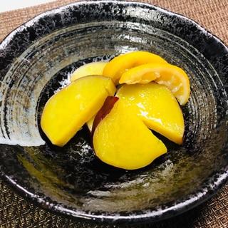 色鮮やかで美味しく!さつまいものレモン煮