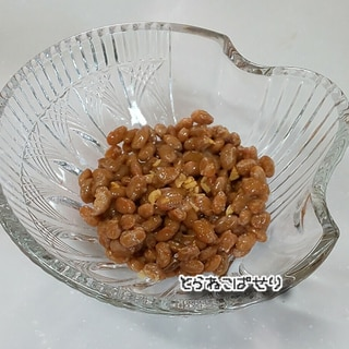 ☆ガーリックオイルの納豆★