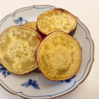 サツマイモの砂糖レモン焼き
