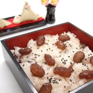 北海道ならでは!ふっくら甘納豆赤飯