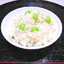 新生姜としらすの炊き込みご飯