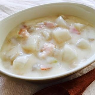 大根とベーコンのクリームシチュー♡
