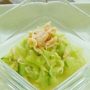 なごりの夏サラダ