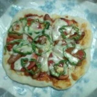 簡単!好きな具トッピング♪色んなバリエーションピザ