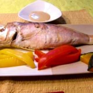 今話題の低温蒸し!甘鯛と緑黄色野菜