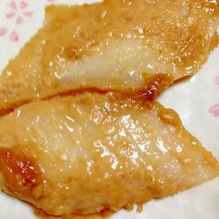 ご飯がすすむ◎白身魚の味噌焼き