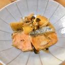 ご飯がすすむ!鮭とサツマイモの甘辛バター醤油炒め