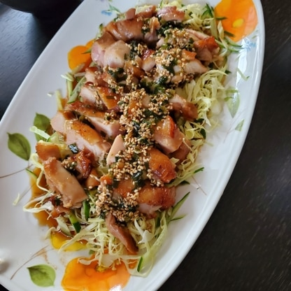 初めての油淋鶏、美味しくできました(*^^*) みなさんもおっしゃっているように、「タレが美味しい!」と主人から大好評でした。