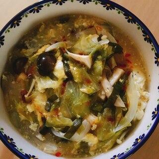 *ダイエット*サンラータンスープ 豆腐ver