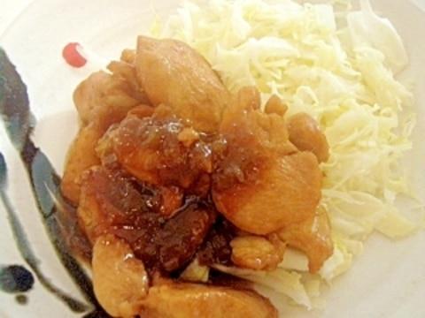 梅酒の梅で!鶏むね肉の照り焼き