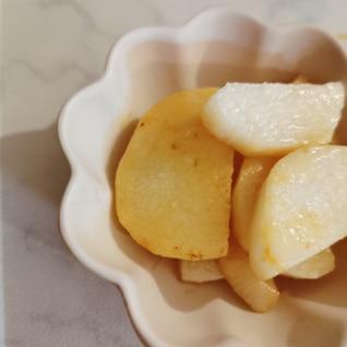 長芋の醤油バター焼き