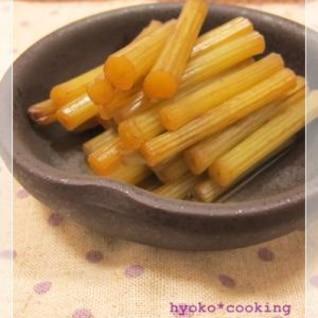 5分で出来る、圧力鍋でふきの生姜煮