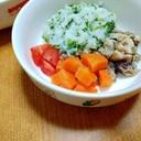 【離乳食】にんじん炒め