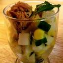 カフェ風コロコロ大根サラダのカクテル