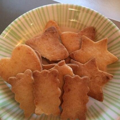 お砂糖を30gに減らして作りましたがそれでも甘かったので、次は20gに減らしてみたいと思います!! ホロホロで美味し〜! リピ決定です!!