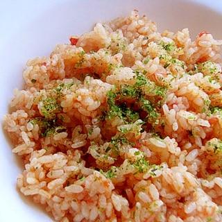 超簡単!炊飯器ピラフ♪(トマト缶&チャーハンの素)