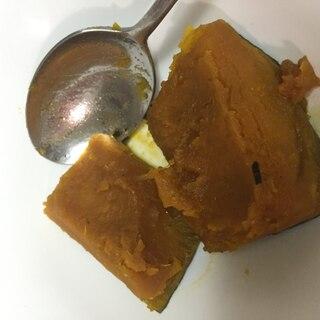 冷凍かぼちゃで煮物❤︎