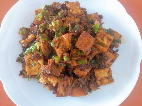 薄揚げ豆腐で作る☆ピリ辛な四川風マーボー豆腐