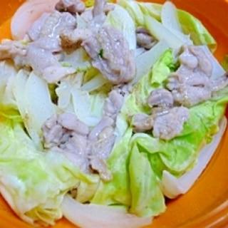 スチーマーで★キャベツと鶏肉蒸し