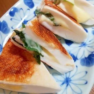 大葉とチーズの焼きはんぺん