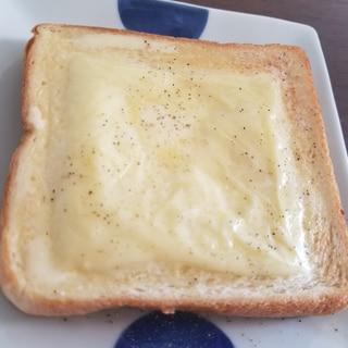 大人のトースト☆オリーブオイルチーズトースト