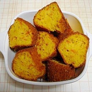 ミックスで簡単(^o^)にんじんのケーキ