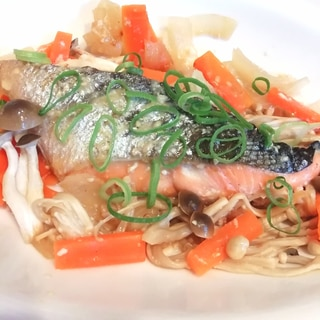 【ご飯に合う】鮭のちゃんちゃん焼き【冷蔵庫整理】