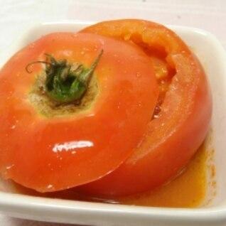 トマトをレンジでチンする