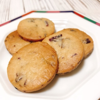 香るバラのサックリクッキー
