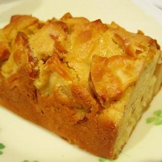 りんごと米粉のしっとりケーキ