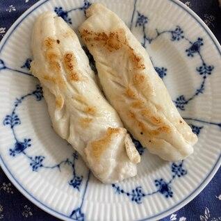 カワハギの白だし生姜焼き