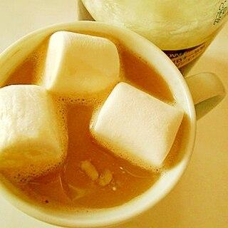 ココナッツオイルとマシュマロで ❤ ミルクコーヒー