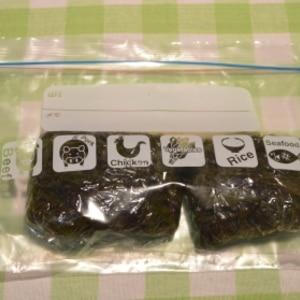 生のふのりは「茹でて冷凍保存」が便利♪