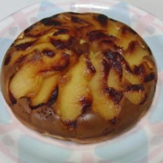 ホットケーキミックスで簡単♪ リンゴのパンケーキ