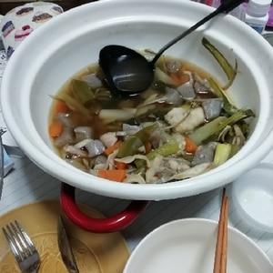 手軽で簡単☆きりたんぽ鍋