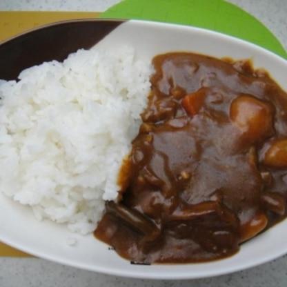 ココナッツウォーター、ひよこ豆♪健康そのままカレーで栄養満点、おいしかったです。ごちそうさまでした♪
