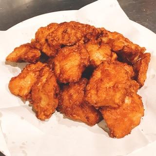 【ブライン液】でしっとり柔らか鶏むね肉の唐揚げ