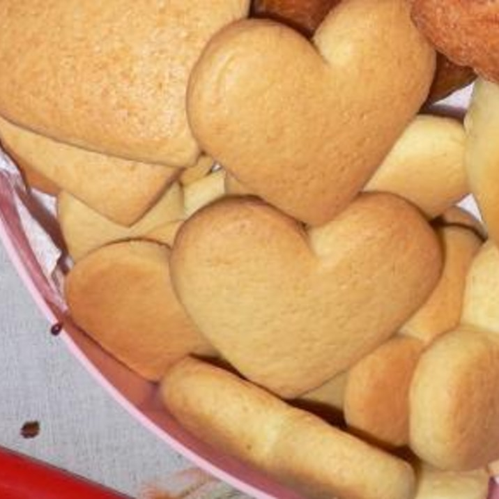 基本のハートクッキー