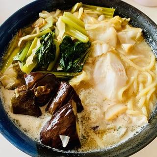 ちゃんぽんトッピング☆なす&キャベツ&小松菜