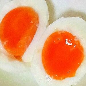 半熟卵の茹で方