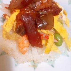ちらし寿司★簡単鮮やか海鮮ちらし