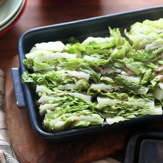 重ねてレンチン♪特急おかず「白菜の重ね蒸し」