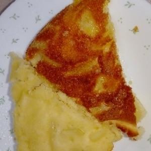 フライパンで作る♪カラメルりんごケーキ