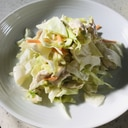 ゆで鶏活用レシピ!コールスローサラダ
