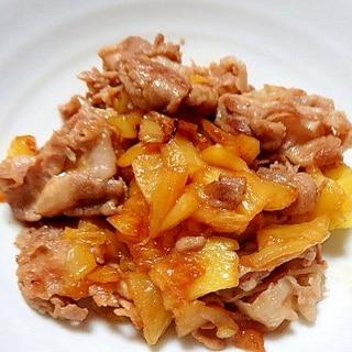 豚とパイナップルの炒め物