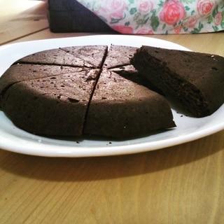*炊飯器レシピ*しっとり2層のチョコレートケーキ