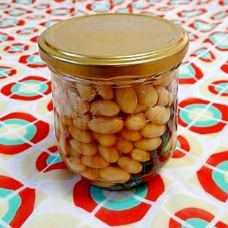 うちの常備菜「酢大豆」