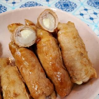 【すき焼きのタレで】もチーズ肉巻き☆おつまみ