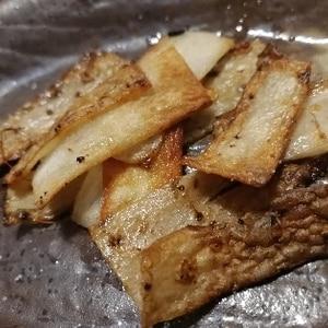 長芋の皮でエコ☆チップス